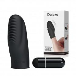 PRETTY LOVE Silicone vibrator Single Finger 坑紋手指G點震動器指套