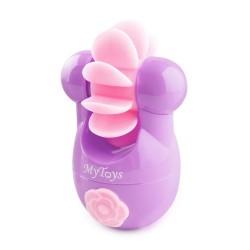 德國MyToys 旋轉仿真舌情趣按摩器 - 紫色