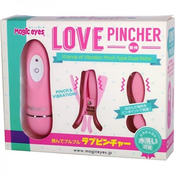 日本Magic Eyes Love PINCHER 乳頭震動夾