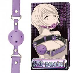 SM全矽膠透氣口塞 (紫色)