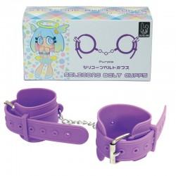 日本矽膠手扣(紫色)