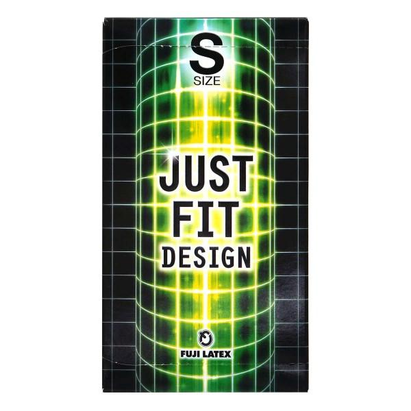 日本 Just Fit - 緊貼裝 53mm 乳膠安全套 (12 片裝 )