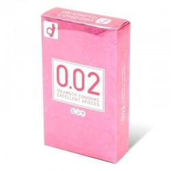 Okamoto日版岡本: 0.02 Pink (6片裝)