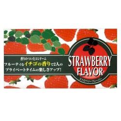 日本香甜果味 安全套  草莓味(12件)