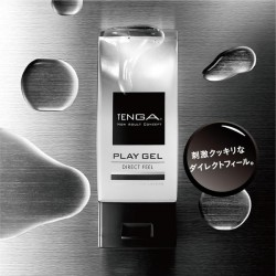 日本TENGA.PLAY GEL-DIRECT FEEL 【清爽性 - 黑色】