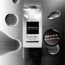 日本TENGA.PLAY GEL-DIRECT FEEL 【清爽性 - 黑色】