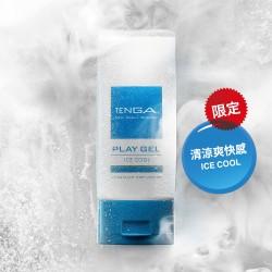 日本Tenga - Play Gel ICE COOL潤滑油 【藍色 - 150ml】- 限定商品